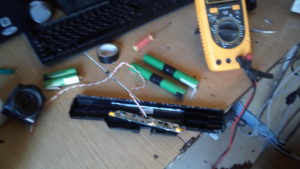 Самодельная аккумуляторная батарея для металлоискателя