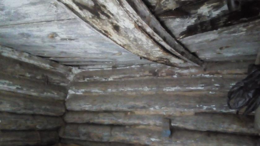клад в стене дома