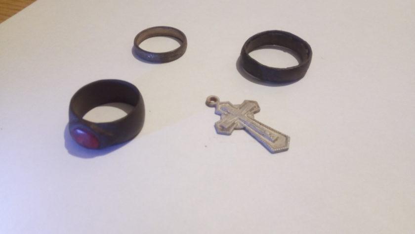 старинные кольца